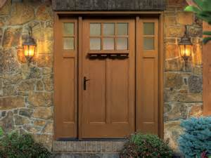 Fiberglass Front Door With Sidelights Thermatru Classic Craft American Style Fiberglass Entry Door With Sidelights Cca260xc Eld E 4c