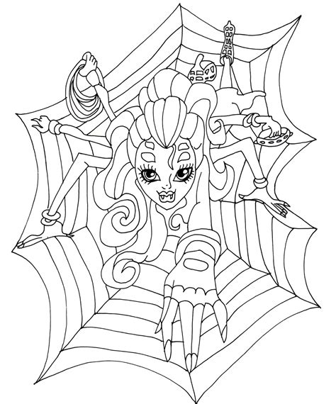 Free Printable Monster High Coloring Pages Wydowna As High Free Coloring Pages