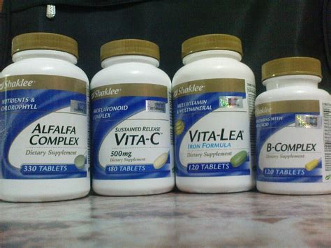 B Trial Pack Multivitamin B Complex Packing 4 Pcs mamabusyra we l o v e healthy lifestyle pengalaman