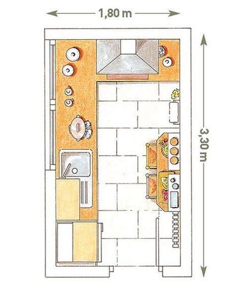 cocinas planos cocinas peque 241 as con planos minis