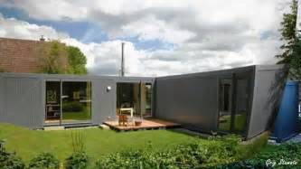 Modular Farmhouse modern shipping container house in germany youtube