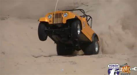 Jeep Paddle Tires Bangshift Obscene Horsepower A Blown Small