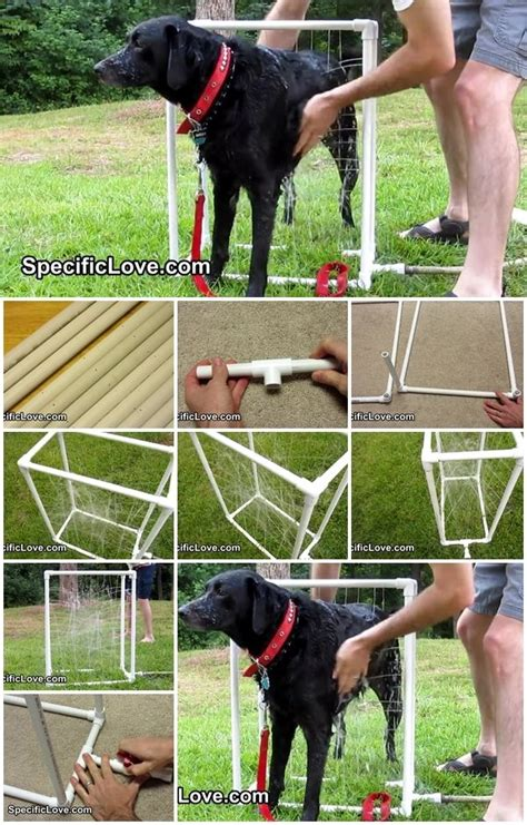 how to a puppy to outside how to make pvc wash certainly an easier way to bathe a large outside diy