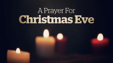 a prayer for christmas eve centerline new media