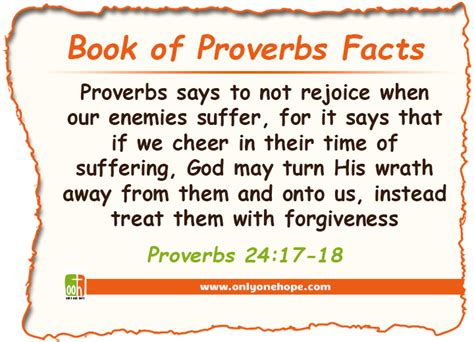 facts about the book of proverbs only one