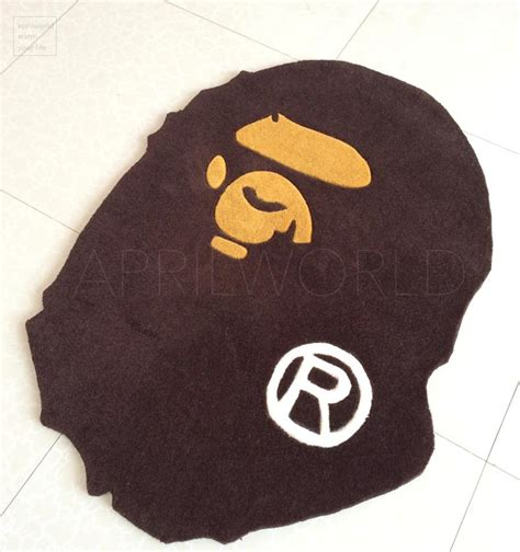 bathing ape rug ᐊfashion a bathing ape door door mat floor mat doormat bape ộ ộ carpet carpet rug monkey