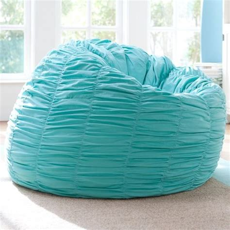 Turquoise Bean Bag Chair by Ruched Quot Pool Quot Turquoise Beanbag Cover Insert 159 Will As Office Decor For Baby