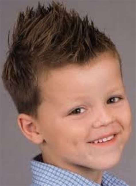 haircut for boys spikey 2015 boy spiky haircut with spiky hair on top and short