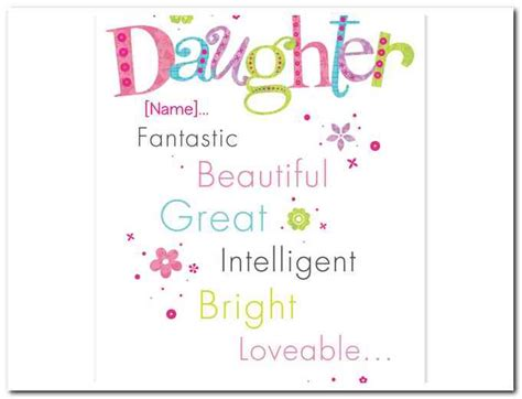 printable birthday cards for daughter printable birthday cards daughter free rusmart org