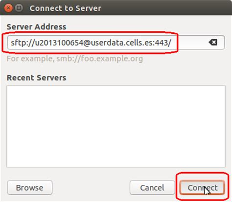 setup ubuntu sftp server remote sftp using linux cells