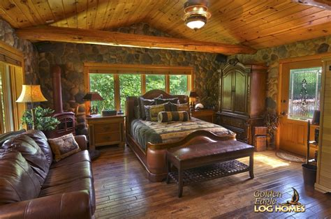 log home bedrooms golden eagle log and timber homes log home cabin