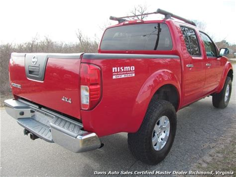 red nissan frontier lifted 2008 nissan frontier nismo lifted 4x4 crew cab short bed