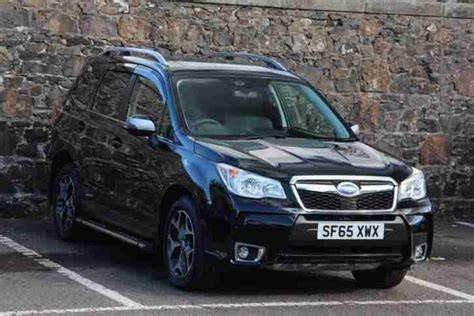 subaru forester black subaru 2015 forester i xt petrol black cvt car for sale