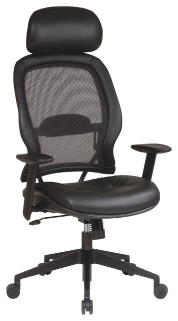 recliners with adjustable lumbar support professional air grid leather office chair with adjustable