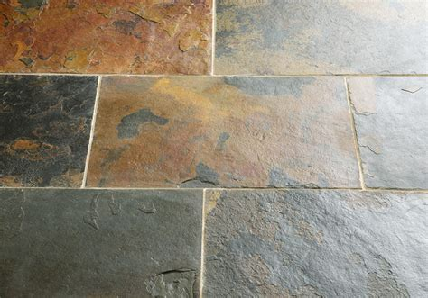 rustic multicolour slate floors of stone stone tiles the good floor store