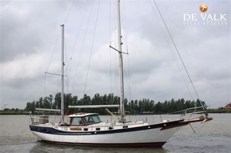 scow ketch nordia ketch 45 sailing yacht for sale de valk yacht broker