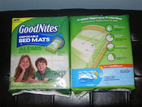 Disposable Bed Mats For Adults - goodnites bed mats for adults