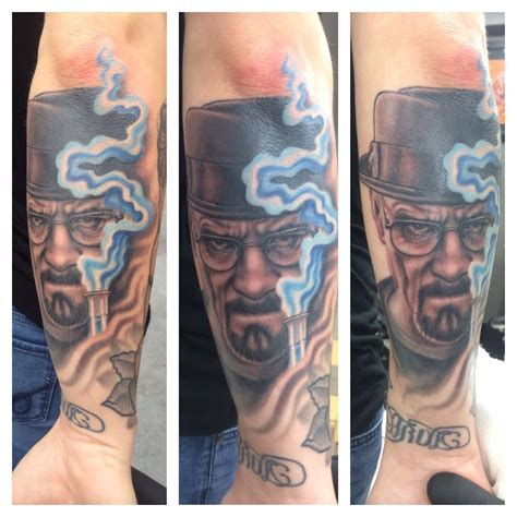 walter white tattoo breaking bad walter white heisenberg tattoos