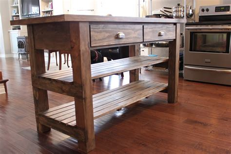 Rustic Kitchen Island Ideas Rustic Kitchen Island Kitchentoday