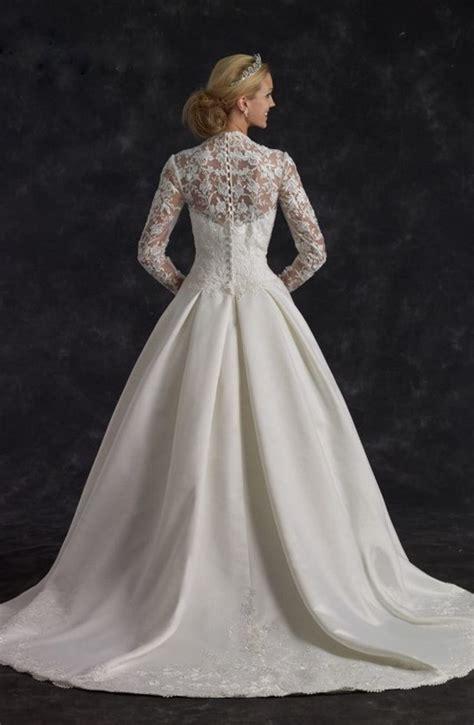 vestido de novia galicia vestido de novia perfecto para matrimonio en enero con mangas largas de encaje y