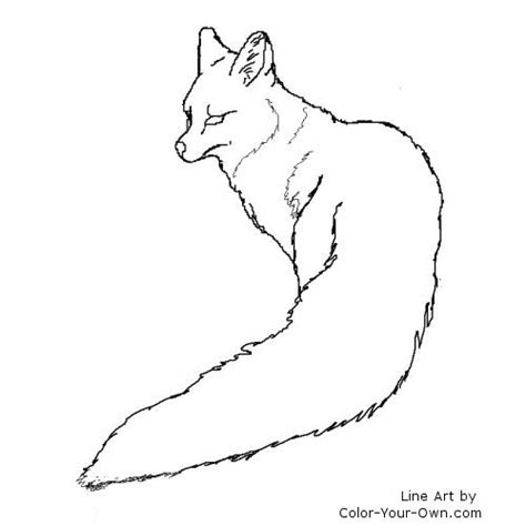 coloring page gray fox gray fox coloring page image search results