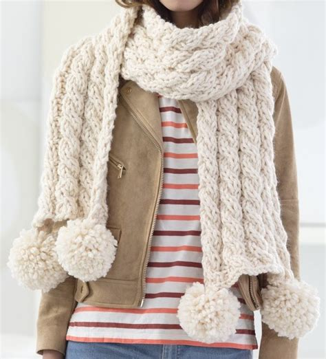 easy cable knit scarf four row repeat knitting patterns in the loop knitting