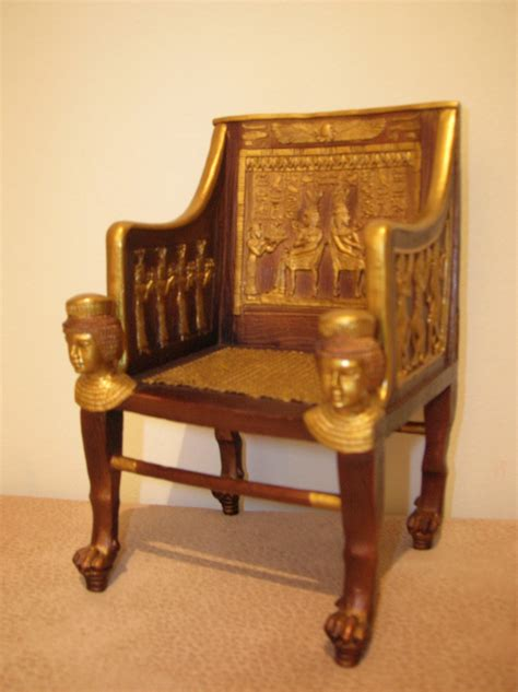 roman armchair princess sitamun s chair from ancient egyptian it is mad