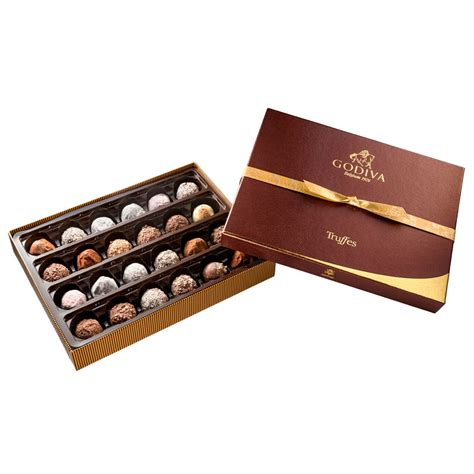 godiva chocolate godiva truffes signature 24 pcs delivery in europe