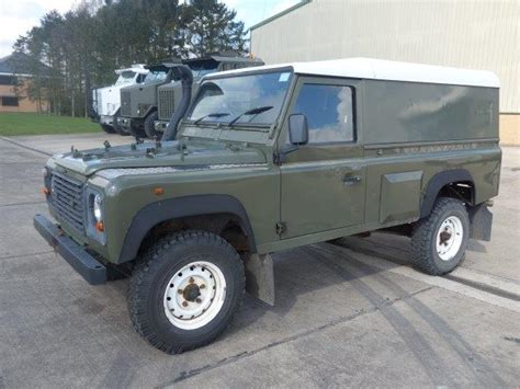 military land rover 110 land rover defender 110 300tdi hard tops ex mod direct sales