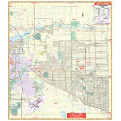 map of lehigh acres florida lehigh acres fl wall map