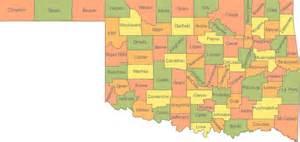 map of oklahoma oklahoma ok travel around usa