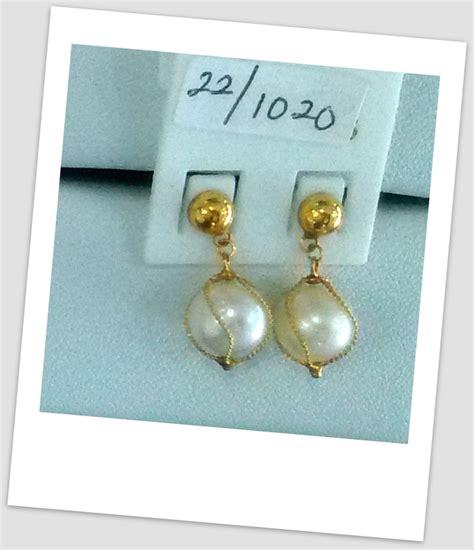 Anting Ear Ring Pearl anting mutiara emas 0036 south sea pearl necklace price pearl wholesale gold jewelry harga