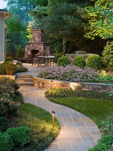 nice backyard garden spaces pinterest