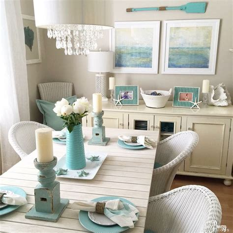 beachy decorating ideas awesome beach themed dining room ideas rugoingmyway us