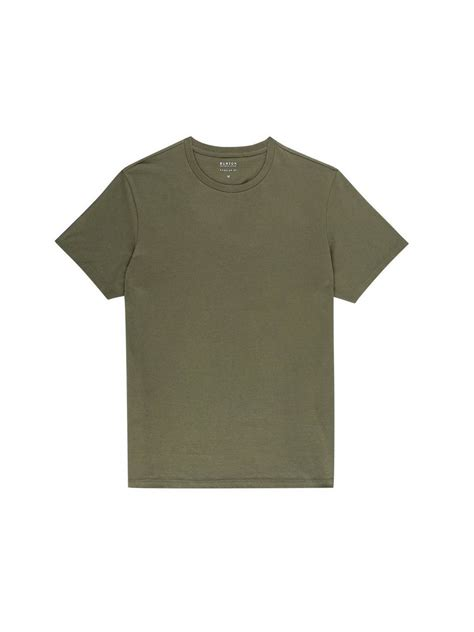 T Shirt F This khaki crew neck t shirt mens sportswear clothing