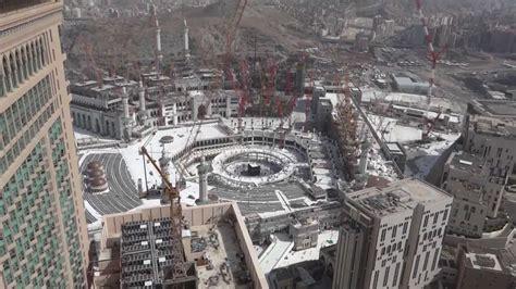 new design masjid al haram new construction of masjid al haram full hd youtube
