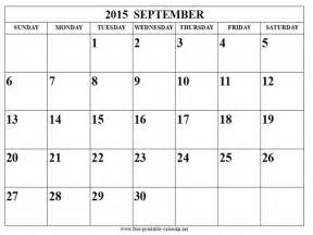 printable calendar for september 187 calendar template 2017