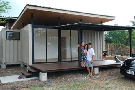 one bedroom cabins to build neat little shipping container prefab built in bangkok