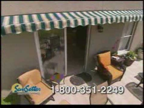 sunsetter awning commercial sunsetter awnings tv commercial youtube