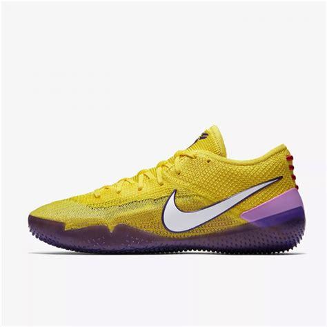 Sepatu Basket D jual sepatu basket nike a d nxt 360 yellow strike