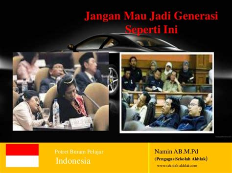 Potret Lembaga Pengadilan Indonesia potret buram remaja indonesia