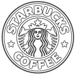 New starbucks coffee logo sketch image