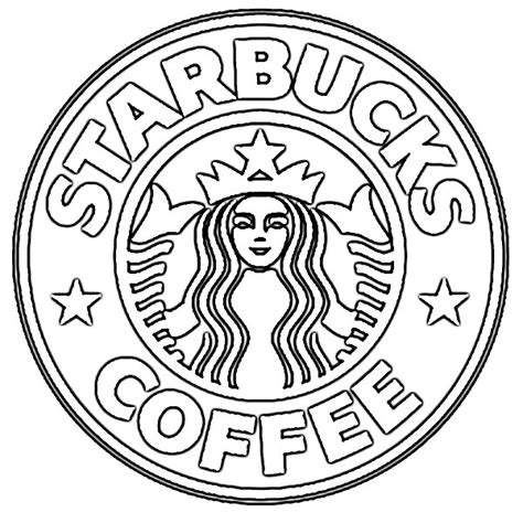 New Starbucks Coffee Logo Sketch   Image Sketch