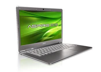Hp Acer Dan Speknya Harga Ultrabook Acer Aspire S3 Dan Speknya Ichen Tech