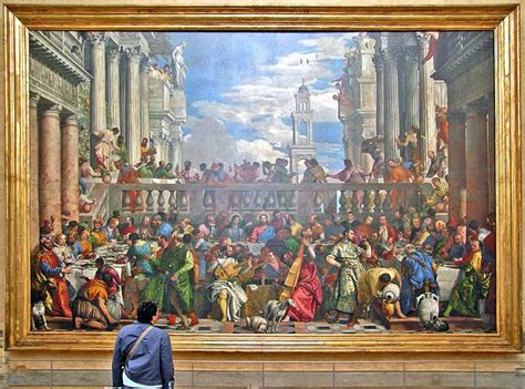Wedding At Cana Painting In The Louvre by The Wedding Feast At Cana Le Louvre Trip 2013