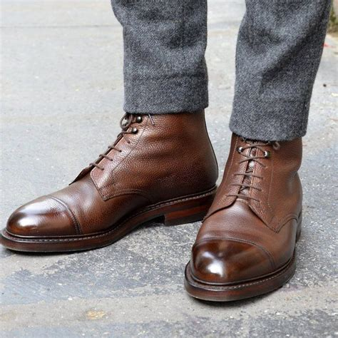 Jones Gets The Boot by Fancy Coniston Leather Boots By Crockett Jones