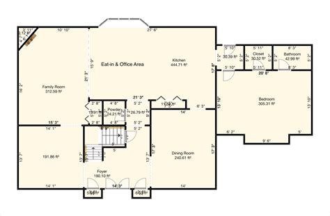 center colonial floor plan center colonial floor plan excellent house design ideas