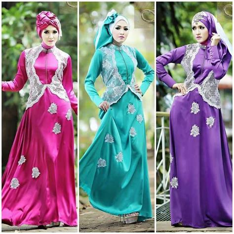 Gamis Srikandi baju muslim gaya baru baru srikandi by fitria style