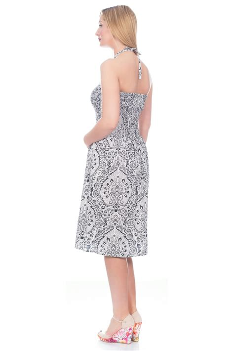 womens holidays uk womens holiday ladies short knee length summer beach dress cotton sizes 8 22 ebay