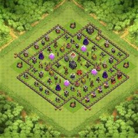 coc effective layout th9 most effective defense order in clash of clans clash